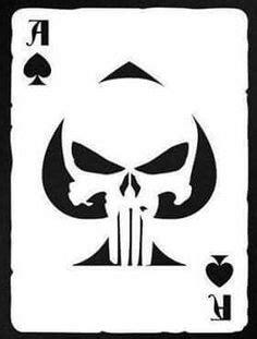 Punisher Skull Stencil | kids | Pinterest | Skull stencil