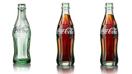 nuevo dise 241 o para la botella de vidrio de coca cola paredro