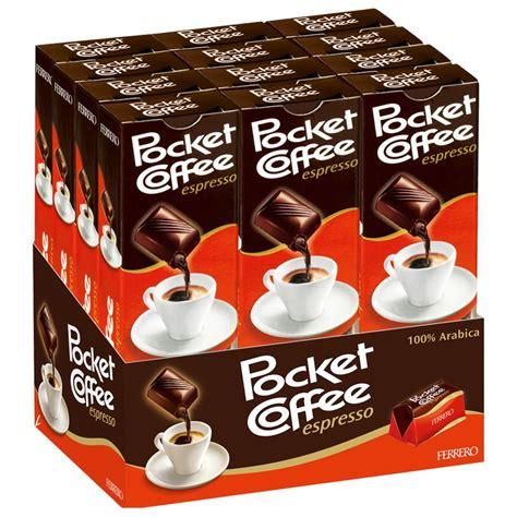 Ferrero Pocket Coffee Espresso Kaffee Praline 12 Riegel Schokolade Pralinen Ferrero Pralinen