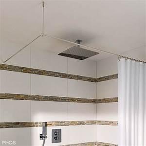 Duschvorhang Befestigung über Eck : duschvorhangstange aus edelstahl f r die bad gestaltung ~ A.2002-acura-tl-radio.info Haus und Dekorationen