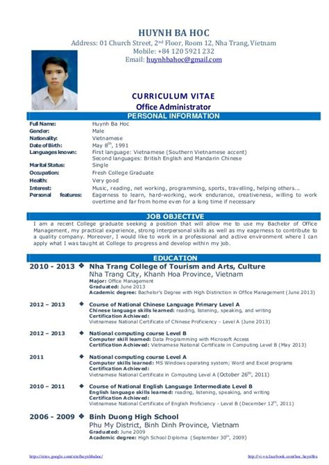 resume format for graduates 100 images student resume