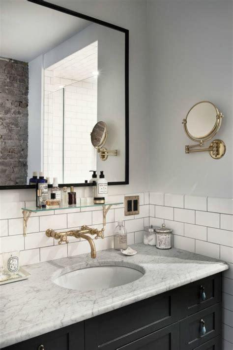 Carrelage Miroir Salle De Bain by Grand Miroir Contemporain Un Must Pour La Salle De Bain