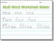 Handwriting Worksheets Maker Pin By Dawson On Teaching