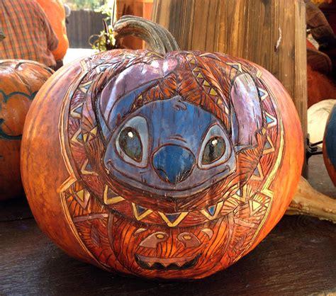 stitch pumpkin template pumpkin carving at its finest oh my disney