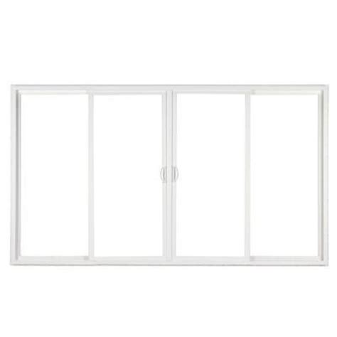 Simonton Patio Door Sizes by Simonton 4 Panel White Contemporary Vinyl From Home Depot
