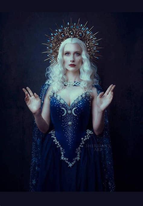 night goddess elven corset dress gothic witch wedding