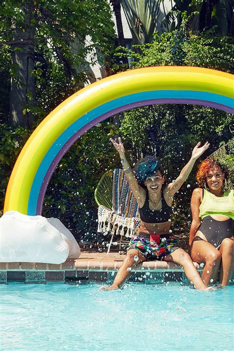 rainbow pool floats rainbow pool float