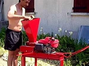 Broyeur à Végétaux : mon broyeur de vegetaux maison youtube ~ Dallasstarsshop.com Idées de Décoration