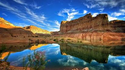 Canyon Grand Wallpapers Lake Resolution Landscape Desktop