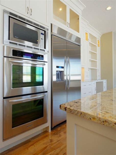 double oven   refridgerator design pictures