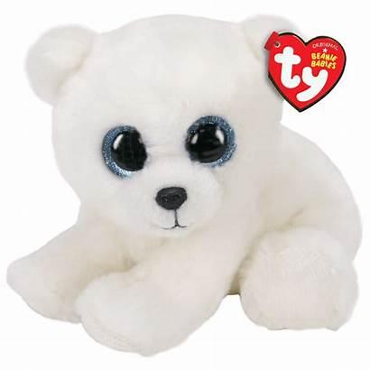 Ari Ty Bear Polar Beanie Plush Babies