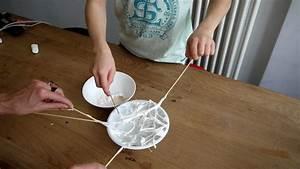 Halloween Deko Spinne Aus Marshmallows Im Spinnennetz