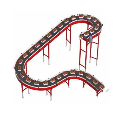 Slat Conveyors Ryson Conveyor Chain Drive Flexible