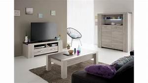 Wohnzimmer In Grau : 3tlg wohnzimmer set malone 41 in eiche steinoptik grau ~ Sanjose-hotels-ca.com Haus und Dekorationen