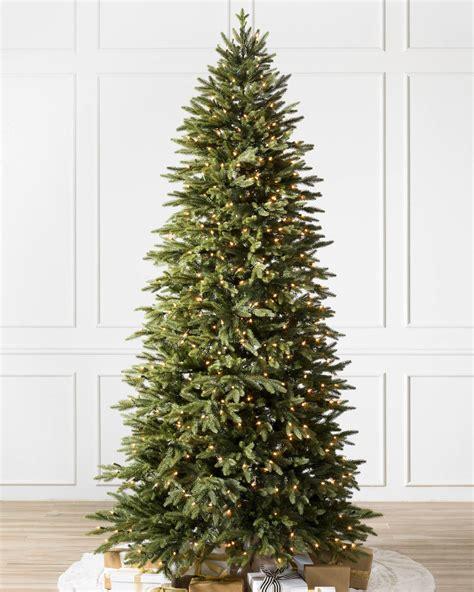 buy silverado slim christmas trees online balsam hill