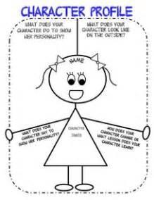 Character Profile (girl) 3rd  6th Grade Worksheet