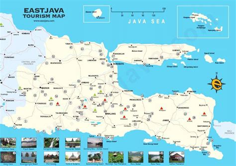 map  east java  trully east java