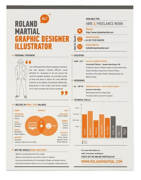 Industrial Design Student Resume by 30 Amazingly Creative Exles Of Designer Resumes Inspirationfeed