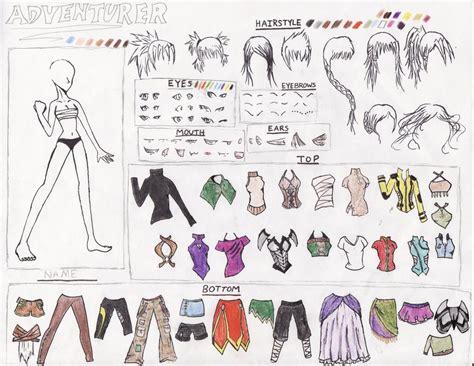 anime kiss maker anime adventurer creator pt 1 by littlegardengnome on