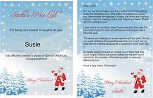 Free santa lettersnet free printable santa letters in for Nice list santa letter