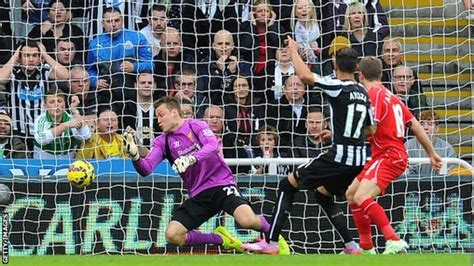 Newcastle United 1-0 Liverpool - BBC Sport