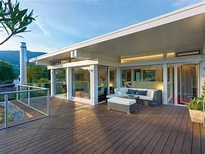 Haus Mit Dachterrasse : huf haus art flachdach huf haus ~ Frokenaadalensverden.com Haus und Dekorationen