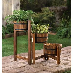 Wholesale Apple Barrel Planter Ladder - Buy Wholesale