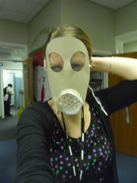 year  making    gas mask