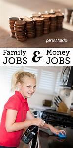 Money Earning Chore Chart Establishing Quot Family Jobs Quot Quot Money Jobs Quot At Home Modern