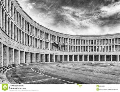 Architettura Neoclassica Nel Distretto Di Eur, Roma