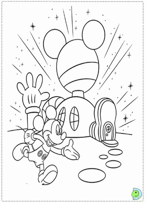 mickey mouse clubhouse printable coloring pages coloring