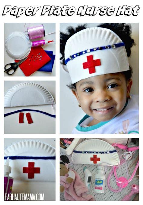 nurse hat craft for preschoolers 208 best images about preschool community helpers crafts 863