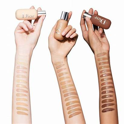 Dior Foundation Backstage Face Swatches Makeup Shades