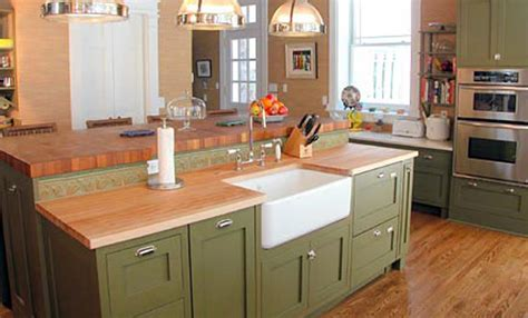 Corian Sink Stain by Maple Wood Countertop In Morristown New Jersey