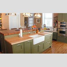 Maple Wood Countertop In Morristown, New Jersey