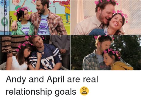 Real Relationship Memes - jam ーーーーーーー rtsa3d concert dio andy and april are real relationship goals funny meme on sizzle