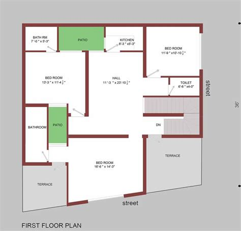 marla house plan home plans