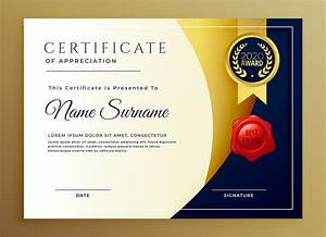 award certificate template border elegant certificate of appreciatiom template design