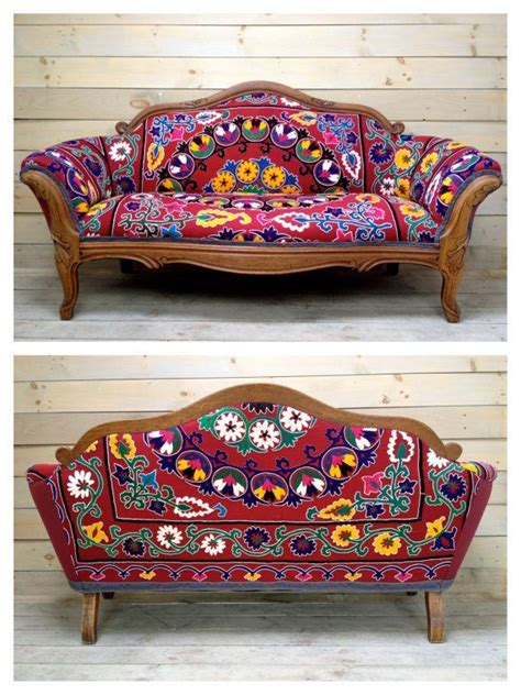 settee sofa designs vintage carved settee reupholstered with antique