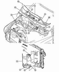2003 Dodge Ram 2500 Module  Wiper  Windshield  Washer