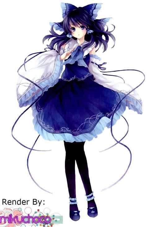 anime epic musique touhou render by mikuchoco deviantart on deviantart