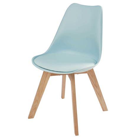 la chaise et bleu chaise bleu clair et pieds en ch 234 ne maisons du monde