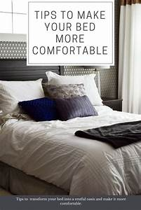 how to make a bed more comfortable 28 images With how to make sofa bed mattress more comfortable