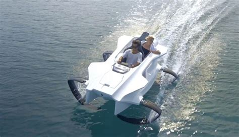 Man Powered Hydrofoil Boat by First Electric Hydrofoil Sports Boat Coming In 2015 For