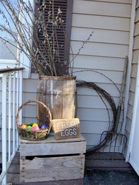 Outdoor Decorating by 29 Cool Diy Outdoor Easter Decorating Ideas