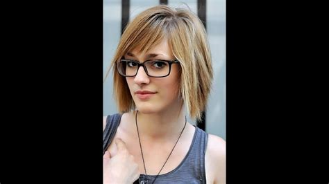 Hairstyles For Faces by Hairstyles For Oval Faces With Glasses