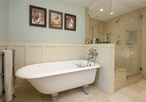 bathroom ideas with wainscoting innovative simplehuman shower caddy in bathroom