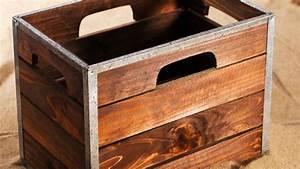 Caisse Bois Deco : comment r aliser un d cor avec des caisses en bois d co maison jardin ~ Teatrodelosmanantiales.com Idées de Décoration