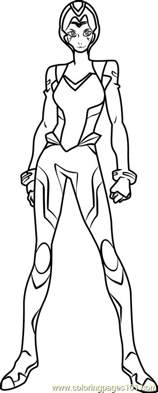 allura  helmet coloring page  voltron legendary defender coloring pages