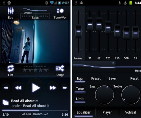 the best free player android apps